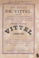Plaquette Publicitaire Vittel 1875 (LOT AE 23) - Advertising
