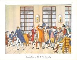 Collection Des Cafés Et Estaminets De Paris. 7 Documents En Excellent état. - Old Paper