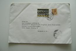 1975  BUSTA  SPEDITA  PATTINAGGIO SKATING  HCKEY    DA ACQUEDOTTO PUGLIESE - Historical Documents