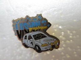 PIN'S    CITROEN  AX  D JACQUEMIN   RALLYE - Rallye