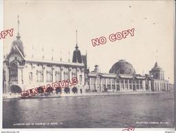 Au Plus Rapide Paris Exposition Universelle 1900 Héliotypes Parisiens Record Palais De La Pêche Beau Format - Places