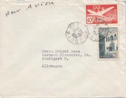 MAROC 1954 - 2 Fach Frankierung Auf Brief - Marokko (1891-1956)