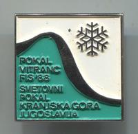 Ski Skiing Jumping - Pokal Vitranc Kranjska Gora FIS 1988. Slovenia, Pin, Badge, Abzeichen - Winter Sports