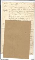 AMIRAL DENIS DECRES , Copie De Lettre Pour Cdt Montfort , Corfou ( Ali Pacha - Général Donzelot - Signé Decrès ) - Documents Historiques