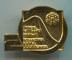 Ski Skiing Jumping - Pokal Vitranc Kranjska Gora FIS 1981. Slovenia, Pin, Badge, Abzeichen - Winter Sports