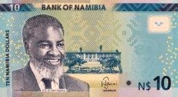 Namibia 10 Dollars, P-16 (2015) - UNC - Namibia