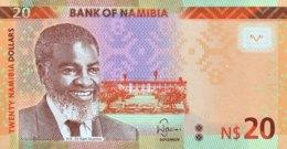 Namibia 20 Dollars, P-17 (2015) - UNC - Namibie