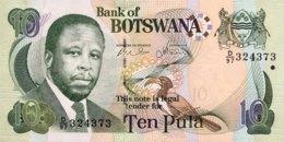 Botswana 10 Pula, P-24b (2007) - UNC - Botswana