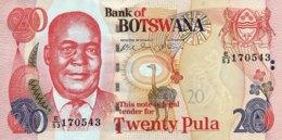 Botswana 20 Pula, P-25a (2002) - UNC - Botswana