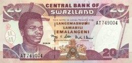 Swaziland 20 Emalangeni, P-30b (2004) - UNC - Swasiland