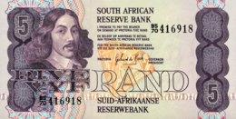 South Africa 5 Rand, P-119c - UNC - Sudafrica