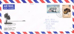 30825. Carta Aerea  FUNAFUTI (Tuvalu)  1987. Official Stamp - Tuvalu