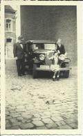 Photo - à Identifier - Voiture Ancienne. (2 Scans) - Cars