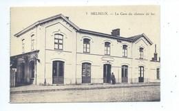 Melreux La Gare Du Chemin De Fer - Hotton