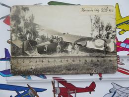 Vintage Photo Breguet 14 Reconnaisance Plane Hussein Day April 1919 - Aviation