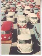 3389  PROSPEKT    VW TRANSPORTER  1964 - Publicité