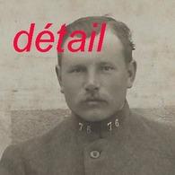 Grand CDV-(CAB) Soldat Du 76e R- Photo Atelier Scharf à Herzoge... - War, Military