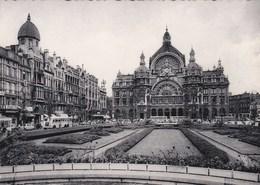 7-Antwerpen-Koningin Astridplaats En Middenstatie (oude Bussen) - Anvers-Place Reine Astrid Et Gare Centrale - Antwerpen