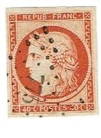 CERES N° 5 MAGNIFIQUE - 1849-1850 Ceres