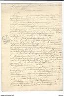 LOUIS XVIII - Rapport Des Ministres Au Roi , En Donnant Leur Démission 1815 ( Duc De Richelieu - Général Donzelot ) - Historical Documents