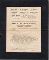 HUMOUR MILITAIRE - PERE CENT,  ( Désiré Bienvenu ) 1 - Historical Documents