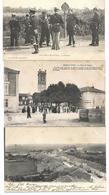 54 - Lot De 3 Cpa - MARS La TOUR - Panorama, Place Eglise, Frontière Soldats - Francia