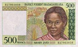 Madagascar 500 Francs, P-75b (1994) - UNC - Madagascar