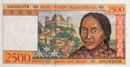 Madagascar 2.500 Francs, P-81 (1998) - UNC - Madagascar