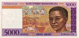 Madagascar 5.000 Francs, P-78b (1995) - UNC - Madagaskar