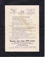 HUMOUR MILITAIRE - Monsieur Jean Comte CENT Ecémar - Historical Documents