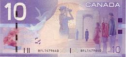 (Billets). Canada 10 Dollars 10 $ 2005 BFL 1479640 Unc - Canada
