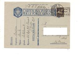2854) FRANCHIGIA AEREA POSTA MILITARE 82 24-3-1942 X CATANIA - Storia Postale