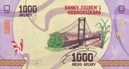 Madagascar 1.000 Ariary, P-100 (2017) - UNC - Madagaskar