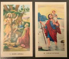 "Santino Holy Card "" S. ISIDORO AGRICOLA "" Ed. GMI 64 - Religione & Esoterismo"