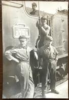 Cheminots. Train. Locomotive. P.L.M. - Trains