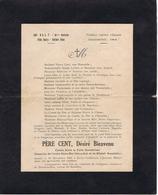 HUMOUR MILITAIRE - PERE CENT, Désiré Bienvenu - Historical Documents