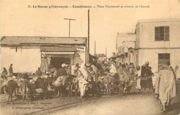 CASABLANCA PLACE MARRAKECH ET CHEMIN DE L'AOUNK - Casablanca