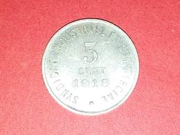 SUPERBE 5 Centimes CHAMBRE DE COMMERCE VILLE DE BLOIS 1918 SYNDICAT INDUSTRIEL Et COMMERCIAL  VOIR PHOTOS Non Nettoyé - Monétaires / De Nécessité