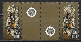 MALTE    -   1978 .   Y&T N° 564 / 565 **.   EUROPA .    Série Complète - Malte