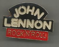 Pins John Lennon Rock'n'roll - Musique
