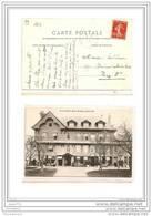 7415 AK/PC/CPA /14/RESTAURANT SAINT SIMEON HONFLEUR 1908/TTB - Honfleur