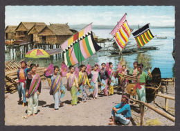 72477/ PHILIPPINES, Dance And Costume, Sailboats Known As Vintas - Filippine