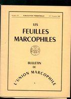 12 Revues Philatelie Thematique 17-31-22-22-30-27-24-21 Les Feuilles Marcophiles 175-177 Obliterations Mecaniques 26-59 - Revistas