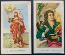 """Santino Holy Card """" S. GIOVANNI BATTISTA    """" Ed. GMI 63 - Religione & Esoterismo"""