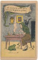 La SORCIERE à Prédit...Chouette, Grenouille, Voyance, Serpents, Prison.... - Humour