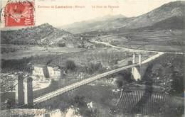 CPA 34 Herault Environs De Lamalou Le Pont De Tarassac - Lamalou Les Bains