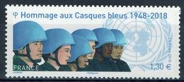 "France, United Nations Peacekeeping, ""Blue Helmets"", 2018, MNH VF - France"