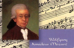 TARJETA TELEFONICA DE ALEMANIA. Wolfgang Amadeus Mozart. PD 10/99-1 (184) - Música