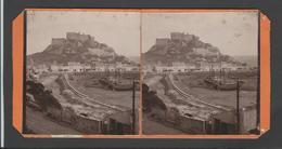 Ref A289 -photo Stereoscopique -vue Stereo -royaume Uni -united Kingdom - Jersey /- Coins Arrondis -/taches Au Verso - Photos Stéréoscopiques