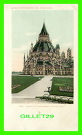 OTTAWA, ONTARIO - LIBRARY OF PARLIAMENT - UNDIVIDED BACK - - Ottawa